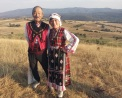 Even foreign visitors were in traditional Bulgarian costumes